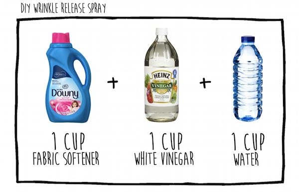 Easy Homemade Wrinkle Release Spray