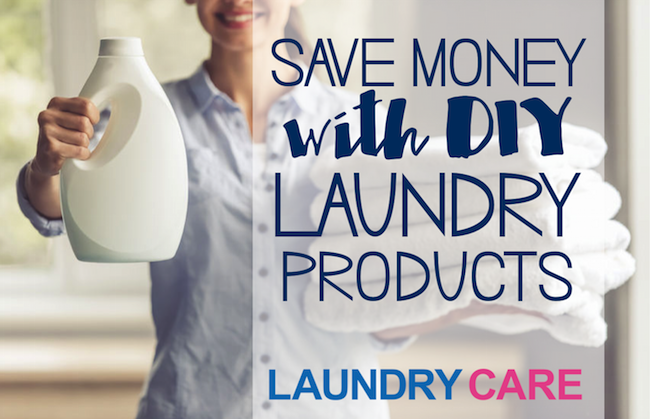 3 Easy Homemade Laundry Products